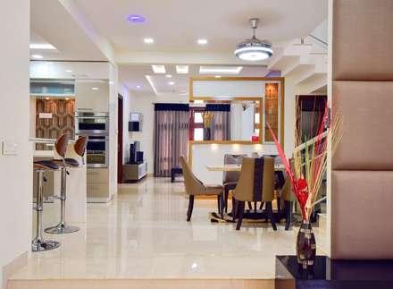 dining: modern Dining room by Team Kraft
