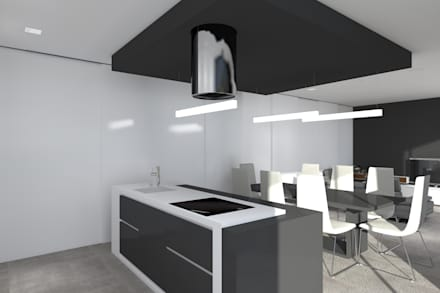 Kitchen units by Magnific Home Lda