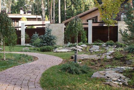 Сосновый бор: Сад камней в . Автор – ПАН Ландшафт