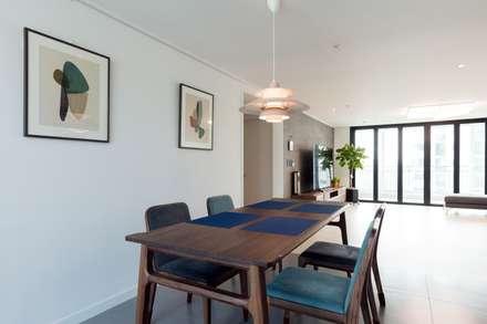 대림아파트: 한디자인 / HAN DESIGN의  다이닝 룸