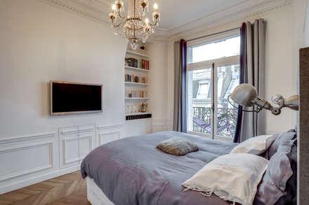 PARIS 2: Chambre de style de style Moderne par BMA