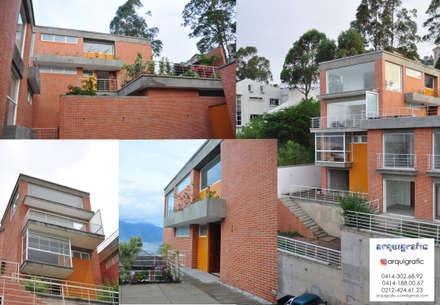 Proyecto de Remodelacion  de Vivienda Unifamiliar Caracas: Casas unifamiliares de estilo  por Arquigrafic, c.a.