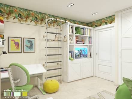 classic Nursery/kid's room by Мастерская интерьера Юлии Шевелевой