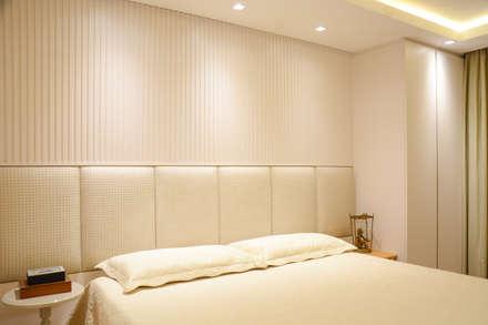Residência KES: Quartos  por Bloco Z Arquitetura