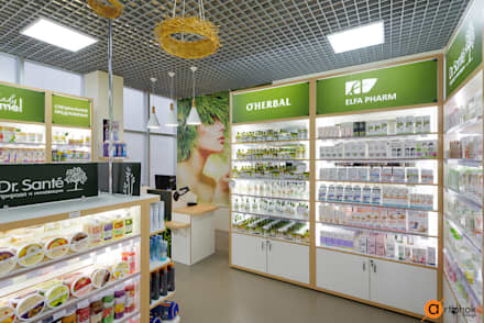 Дизайн интерьера брендового магазина косметики: Офисы и магазины в . Автор – Art-i-Chok