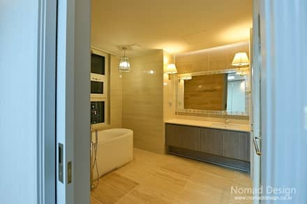 66평 강서구 엘크루블루오션 - 부산: 노마드디자인 / Nomad design의  화장실