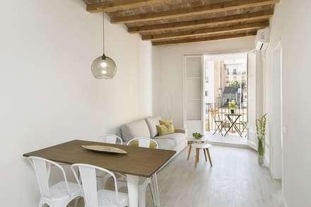 mediterranean Dining room by Gramil Interiorismo II