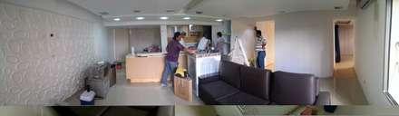 Instalación Cocina - Proceso: Cocinas de estilo minimalista por Arquigrafic, c.a.