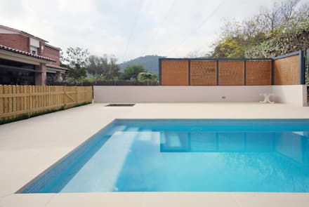 industrialer Pool von Abrils Studio