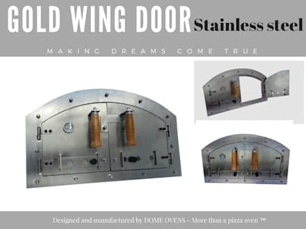 Pizza oven doors :  Front yard by Dome Ovens™