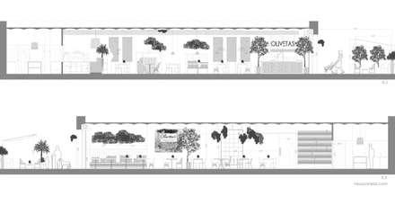 Secciones: Locales gastronómicos de estilo  de Neus Conesa Diseño de Interiores