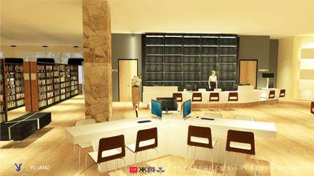 NTUS Library大學圖書館設計案 - 京悅設計:  影音室 by 京悅室內裝修設計工程(有)公司|真水空間建築設計居研所