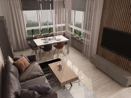 гостиная: Гостиная в . Автор – EEDS Interior design studio