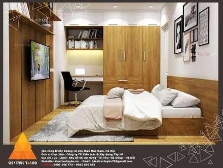 Chung cư Mini : Phòng ngủ by KIẾN TRÚC TÂY HỒ