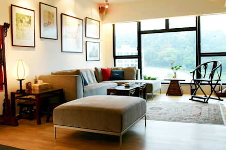 Constellation Cove: classic Living room by Clifton Leung Design Workshop