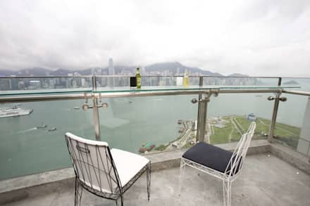The Harbour Side:  Roof by Clifton Leung Design Workshop