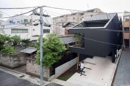 外観: Ryo MURATA Laboratoryが手掛けた屋根です。
