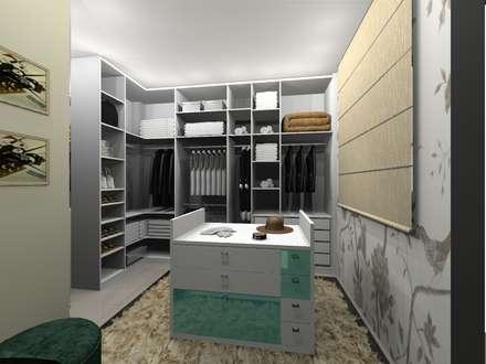 PROJETO DE CLOSET POR VALÉRIA BEZERRA: Closets modernos por valeriagbezerra