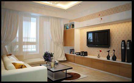 Phòng sinh hoạt chung – nơi kết nối các thành viên trong gia đình lại với nhau:  Đồ điện tử by Công ty TNHH Xây Dựng TM – DV Song Phát