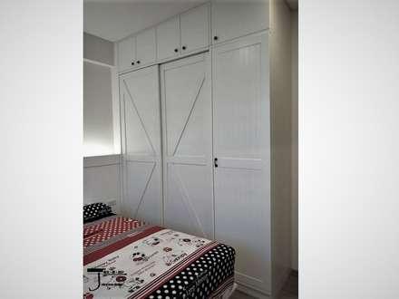 岩顏日和的58。角屋-:  嬰兒/兒童房 by 喬克諾空間設計
