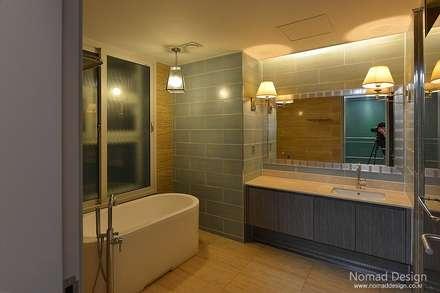 66평 엘크루블루오션 - 부산: 노마드디자인 / Nomad design의  스파
