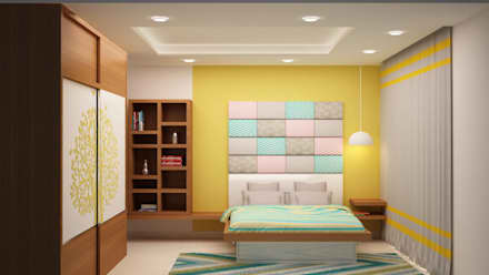 Kids Room Head Side Wall: Asian Nursery/kidu0027s Room By NVT Quality Build  Solution
