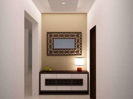 Corridor storage :  Corridor & hallway by NVT Quality Build solution