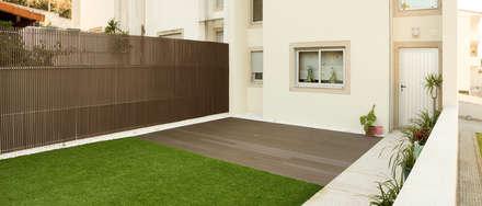 Jardines zen de estilo  por Miguel Oliveira