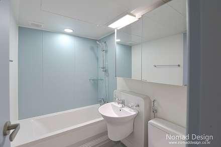 39평 대동황토방 아파트 - 양산: 노마드디자인 / Nomad design의  화장실