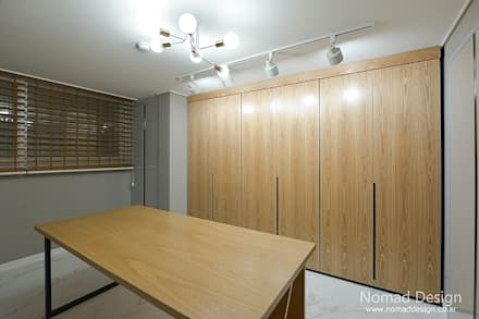 39평 대동황토방 아파트 - 양산: 노마드디자인 / Nomad design의  서재 & 사무실