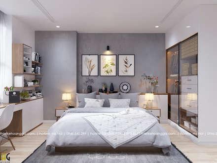 scandinavian Bedroom by Nội Thất Hoàng Gia