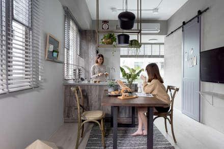 倆倆:  餐廳 by 寓子設計