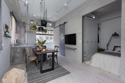 scandinavian Dining room by 寓子設計