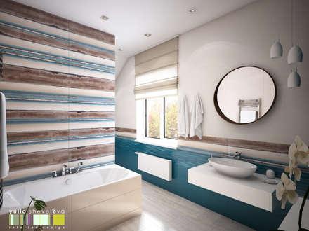 Северное сияние: Ванные комнаты в . Автор – Мастерская интерьера Юлии Шевелевой