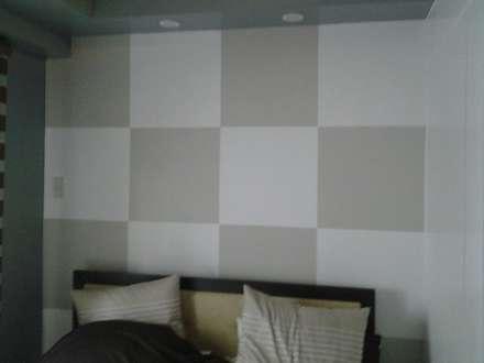Grand Midori-Makati: modern Bedroom by marcdeco
