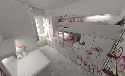 habitacin de de nias dormitorios infantiles de estilo minimalista por aida tropeano asoc - Habitaciones Nias