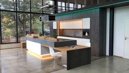 Küche im Industrie Loft Style : industriale Küche von Ebbecke GmbH - excellent einrichten
