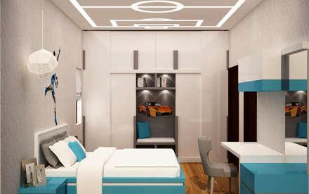 Kids room design : asian Nursery/kid's room by NVT Quality Build solution