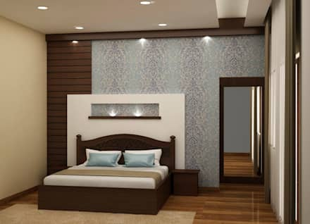 asian Bedroom by NVT Quality Build solution