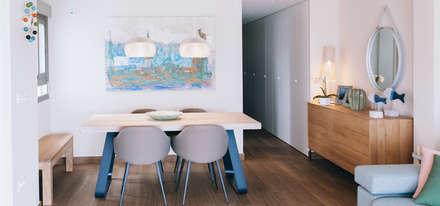 Salón comedor : Comedores de estilo minimalista de Oslätt