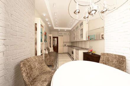 Кухня-столовая: Кухонные блоки в . Автор – Мария Остроумова