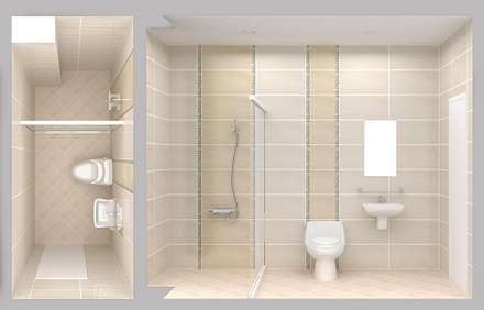 حمام تنفيذ Công ty TNHH Xây Dựng TM – DV Song Phát
