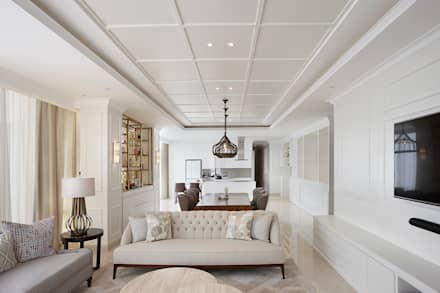 Senopati Suites Apartment:  Ruang Keluarga by High Street