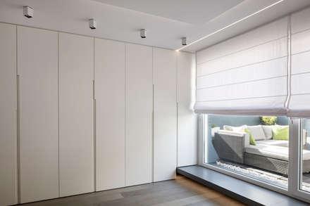 reforma vivienda en calle muelle: Dormitorios de estilo moderno de torradoarquitectura