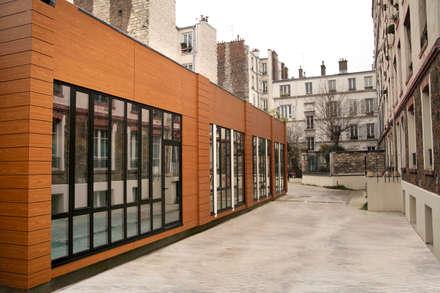 Prefabricated home by EC-BOIS