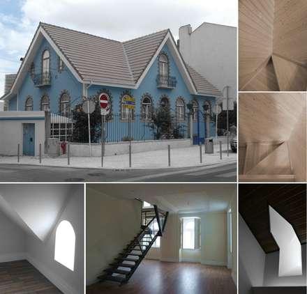 Chalet Mouzinho: Habitações multifamiliares  por Pedro de Almeida Carvalho, Arquitecto, Lda