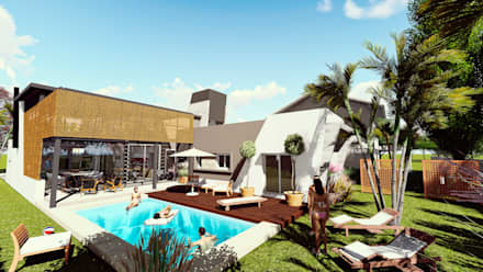 Garden Pool by Módulo 3 arquitectura