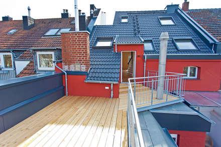Terrasse:  Terrasse von blunk + partner architekten