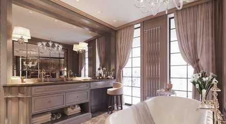 Appartement Privé: Salle de bain de style de style Classique par Studio Elodie Goddard