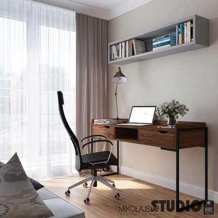 eclectic Study/office by MIKOŁAJSKAstudio